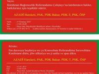Kürdistan bağımsızlık referandumu çalıştayı