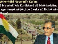 Ji walîyê Kerkûkê di derbarê daxistina ala Kurdistanê de bersivek tarîxî