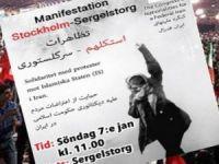 Stockholm: Mîtîng bo piştgiriya Rojhilata Kurdistanê