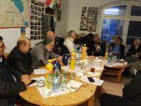 Serokê PAKê Mustafa Özçelik li Hamburgê li gel partî, dezgeh û şexsiyetên Kurdan civîya