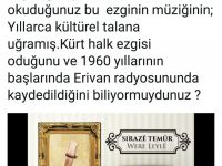 Yek ji talankarên çanda kurdî: Selda Bağcan