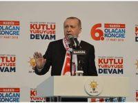 Erdoğan ji Mêrdîniyan re got: Di demeke nêzîk de em ê bikevin navenda Efrînê