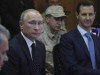 Putin û Esad li Soçiyê civiyan