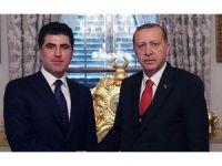 Erdoğan û Barzanî tekezî li ser xurtkirina têkiliyan kir