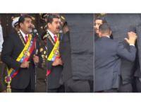 Serokê Venezuela ji hewla kuştinê xilas bû