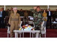 Serok Barzani beşdarî merasîma Pêşmergeyên Zêrevanî bû