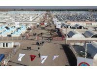 Kampa Kurdên Êzidî ya li Midyadê tê valakirin