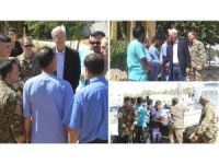 Şandeke Amerîkî alîkariyên bijîşkî ji Kobanê re anî