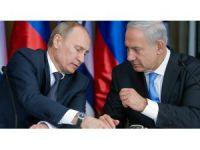 Netanyahu û Pûtîn li ser xistina balafira Rûsî axivîn