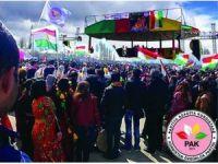 Mustafa Özçelik di 4 saliya PAKê de peyamek belav kir
