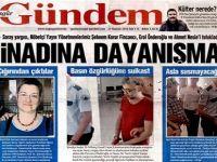 Rojnameya 'Özgür Gündem'  bi miwaqet hat girtin