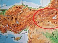 """Tirk ji xerîteya navê """"Kurdistan""""ê veciniqîn"""