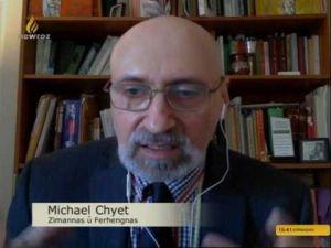 Hevpeyvîn li gel Kurdolog Michael Chyet